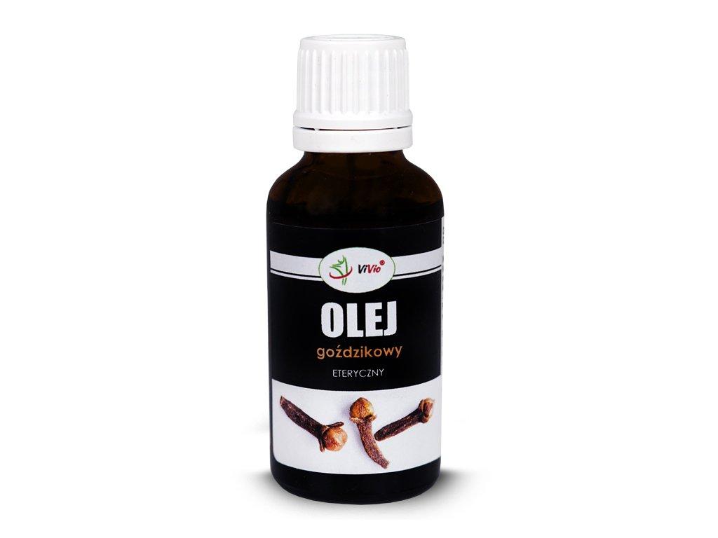 Olej goździkowy 30ml VIVIO właściwości, przeciwskazania