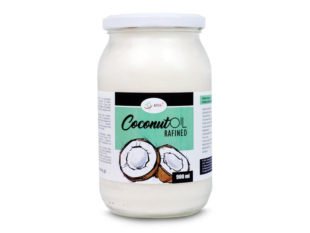 Olej kokosowy rafinowany cena, właściwosci, opinie