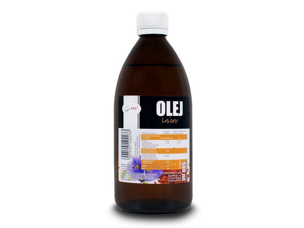 Olej LnianyOpinie Cena Zastosowanie