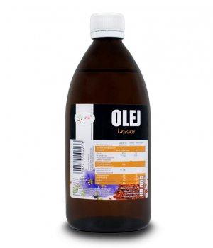 Olej lniany cena, zastosowanie, właściwości, na włosy