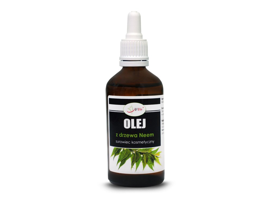Olej neem na kleszcze, olej z miodli indyjskiej, olej z drzewa neem 100ml, zastosowanie