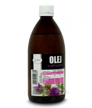 Olej z ostropestu zimnotłoczony cena, zastosowanie, właściwosći