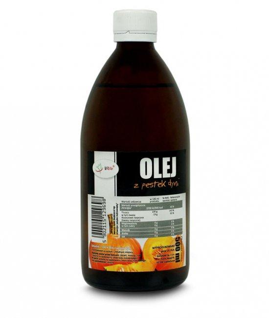 Olej z pestek dyni zimnotłoczony cena zastosowanie, właściwosći