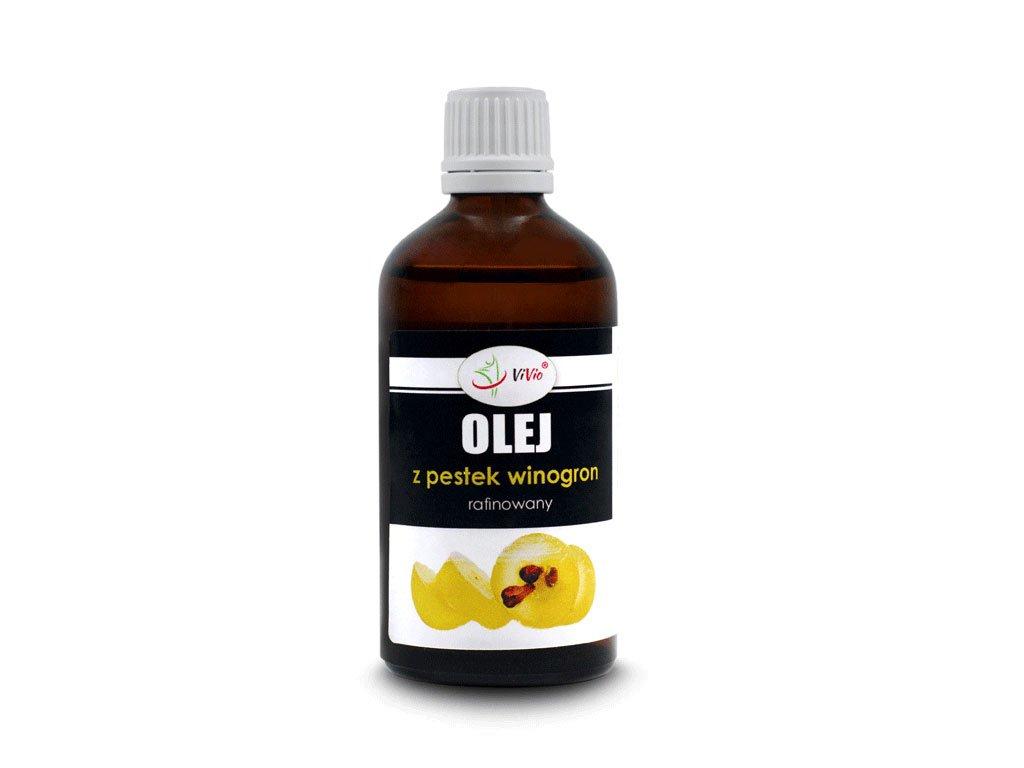 Olej z pestek winogron cena zastosowanie