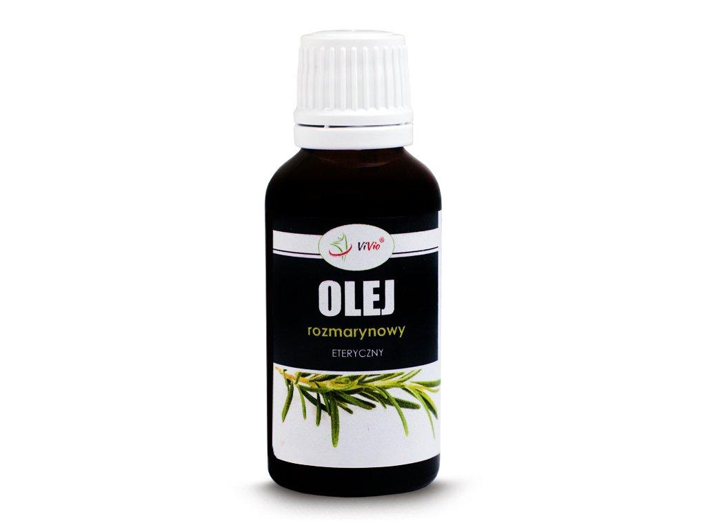 Olejek rozmarynowy 30ml, olejek rozmarynowy właściwości, na pamięć