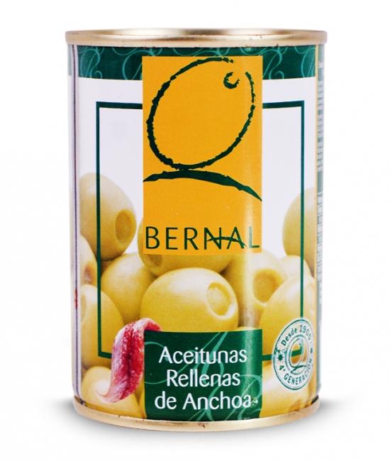 Oliwki z Anchois 120g - BERNAL