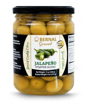 Oliwki Gourmet Jalapeno papryczki 225g - BERNAL