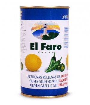 Oliwki Nadziewane Jalapeno El Faro