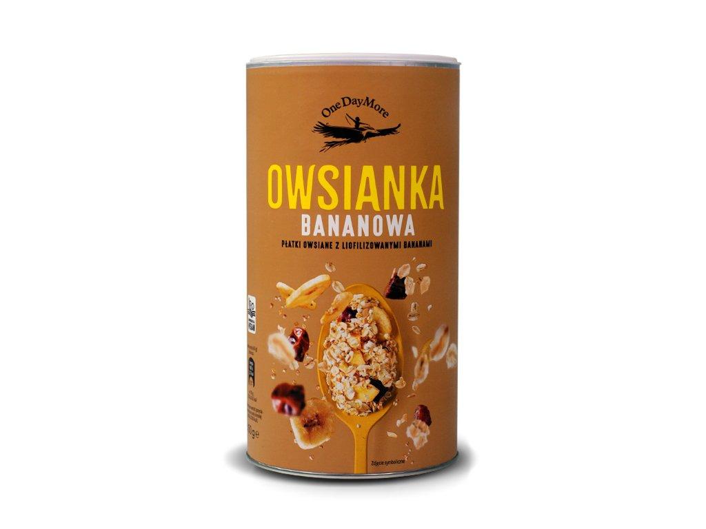 Owsianka bananowa 450g OneDayMore