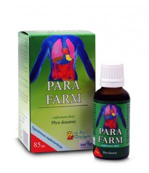 Para farm 85 ml środek na pasożyty, organizm bez pasożytów