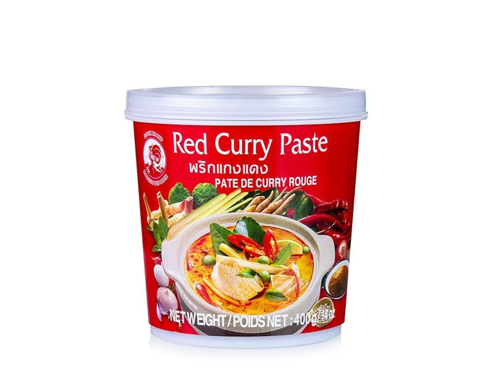 Pasta curry czerwona 400g COCK BRAND