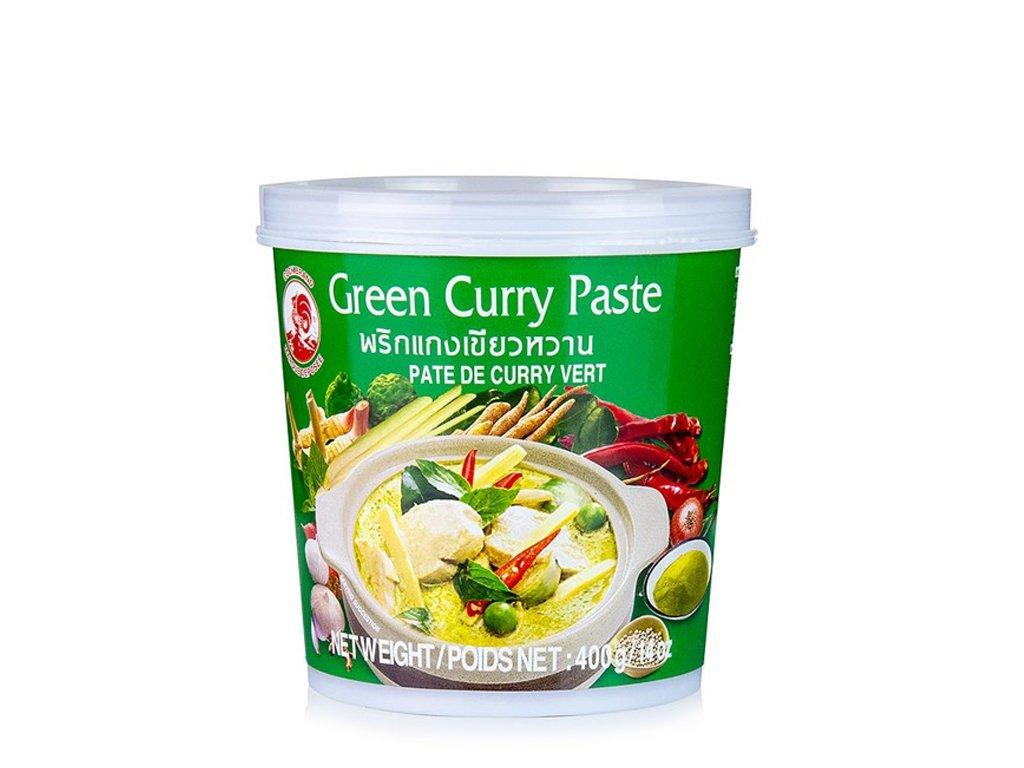 Pasta curry zielona 400g COCK BRAND
