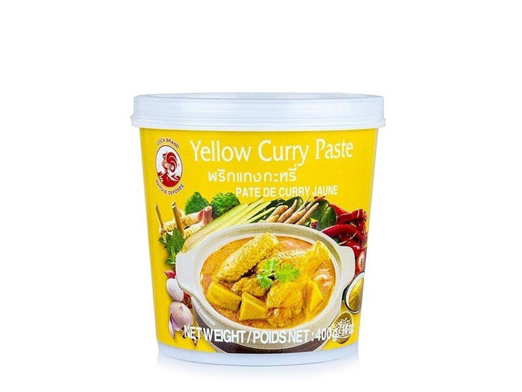 Pasta curry żółta 400g COCK BRAND