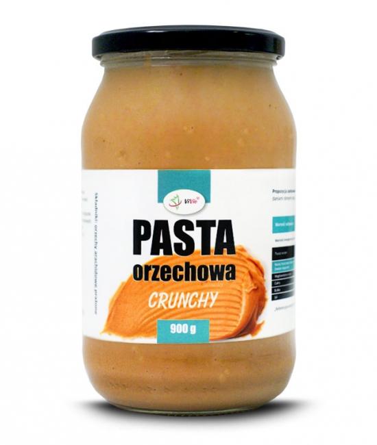 Pasta orzechowa (masło orzechowe) CRUNCHY 900g
