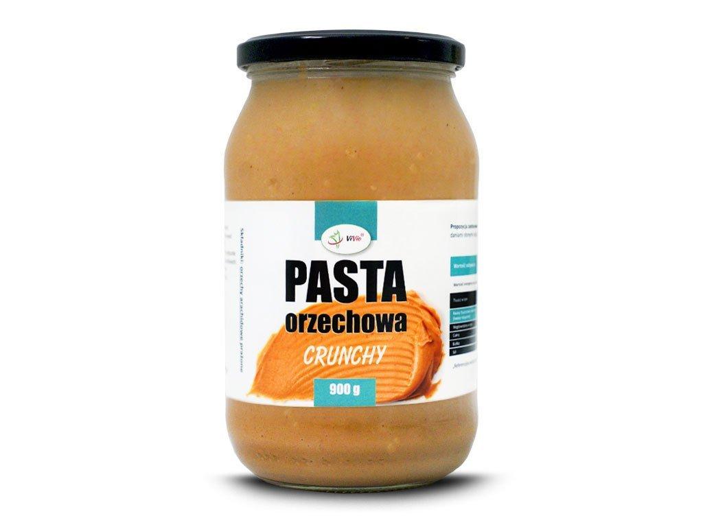 Pasta orzechowa ( masło orzechowe) CRUNCHY 900g