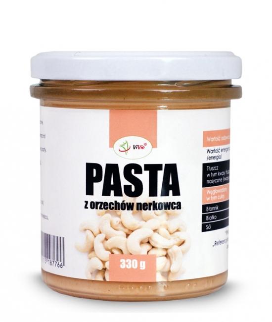 Pasta z orzechów nerkowca 330g, krem z nerkowców, skład, przepis