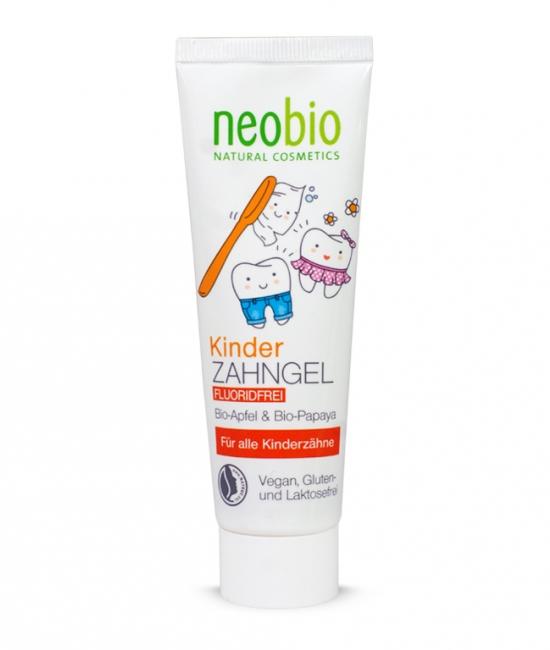 Pasta do zębów dla dzieci jabłko i papaja NEOBIO 50ml