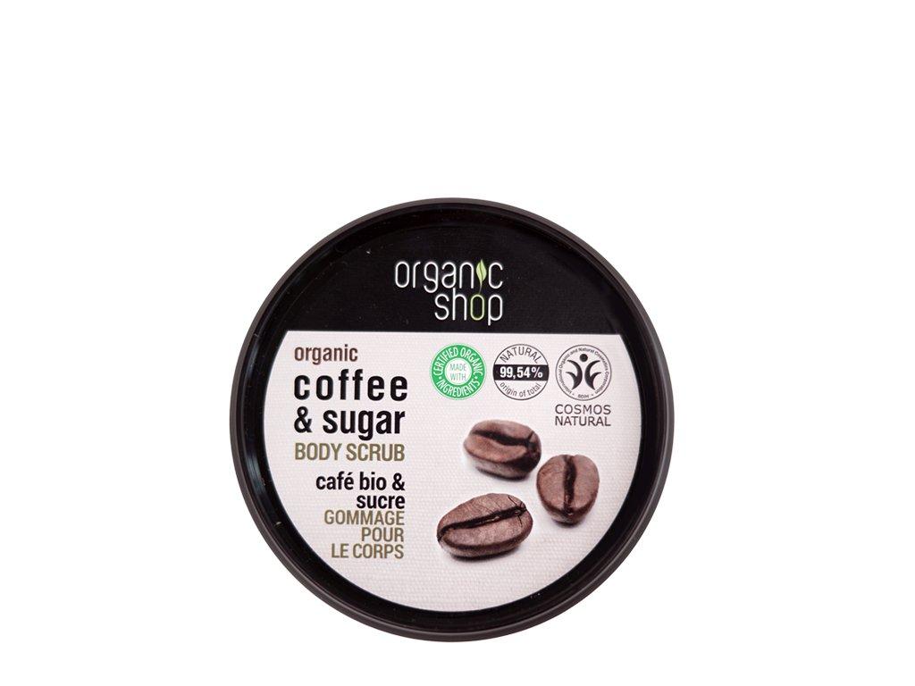 Peeling do ciała brazylijska kawa 250ml OrganicSho