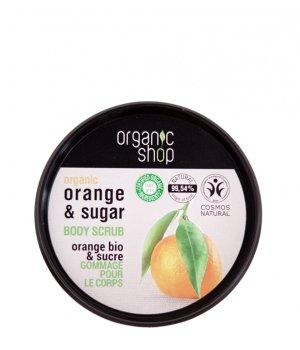 Peeling do ciała pomarańczowy 250ml OrganicShop