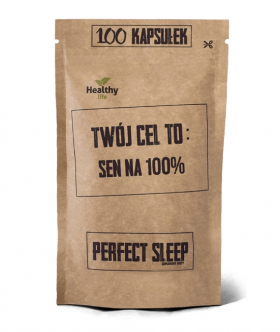 Perfect sleep - sen na 100% 100 kapsułek