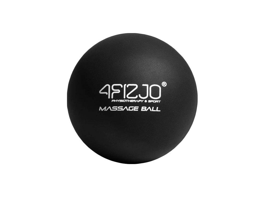 Piłka do masażu twarda lacrosse czarna