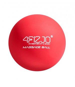 Piłka do masażu twarda lacrosse czerwona