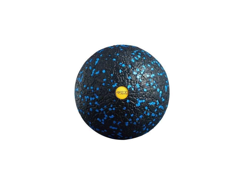 Piłka do masażu 8cm czarno-niebieska