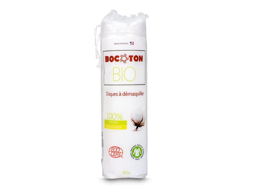 Ekologiczne płatki kosmetyczne 80 szt Bocoton