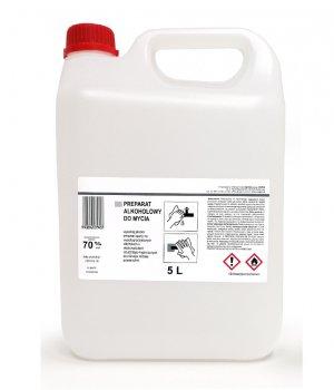Płyn do dezynfekcji powierzchni 70% - 5000ml