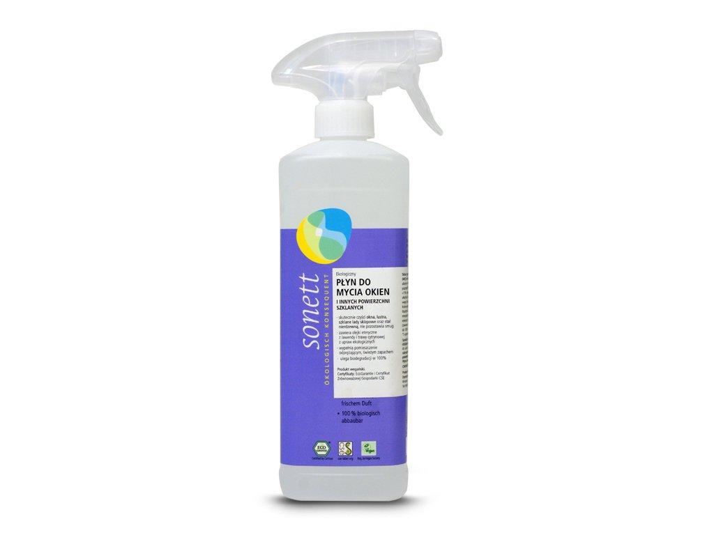 Ekologiczny płyn do mycia okien Sonett 500ml