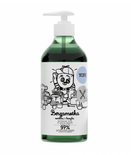 Płyn do naczyń bergamota 750ml YOPE