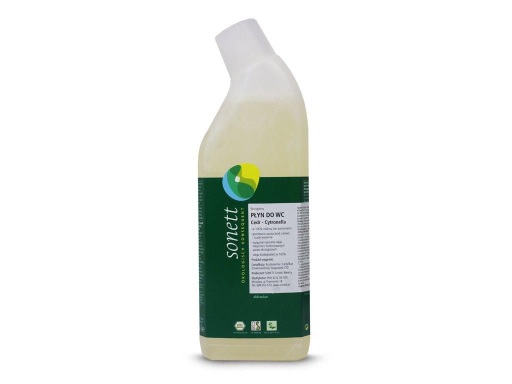 Ekologiczny płyn do WC cedr-cytronella Sonett 750 ml
