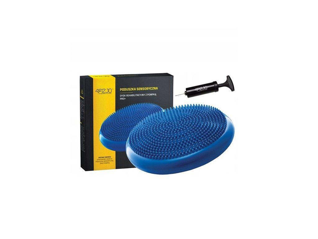 Poduszka sensoryczna PRO+ niebieska 33cm 4Fizjo