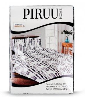 Pościel bawełniana 140x200 + 1 poszewka PIRUU