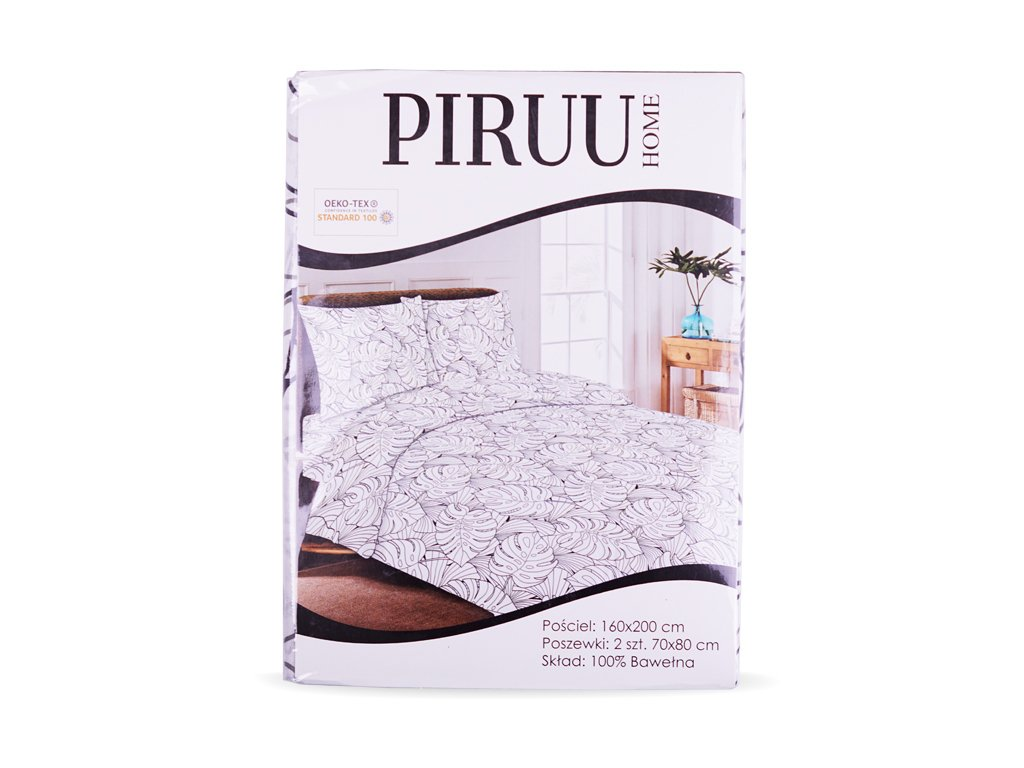 Pościel bawełniana 160x200 + 2 poszewki PIRUU