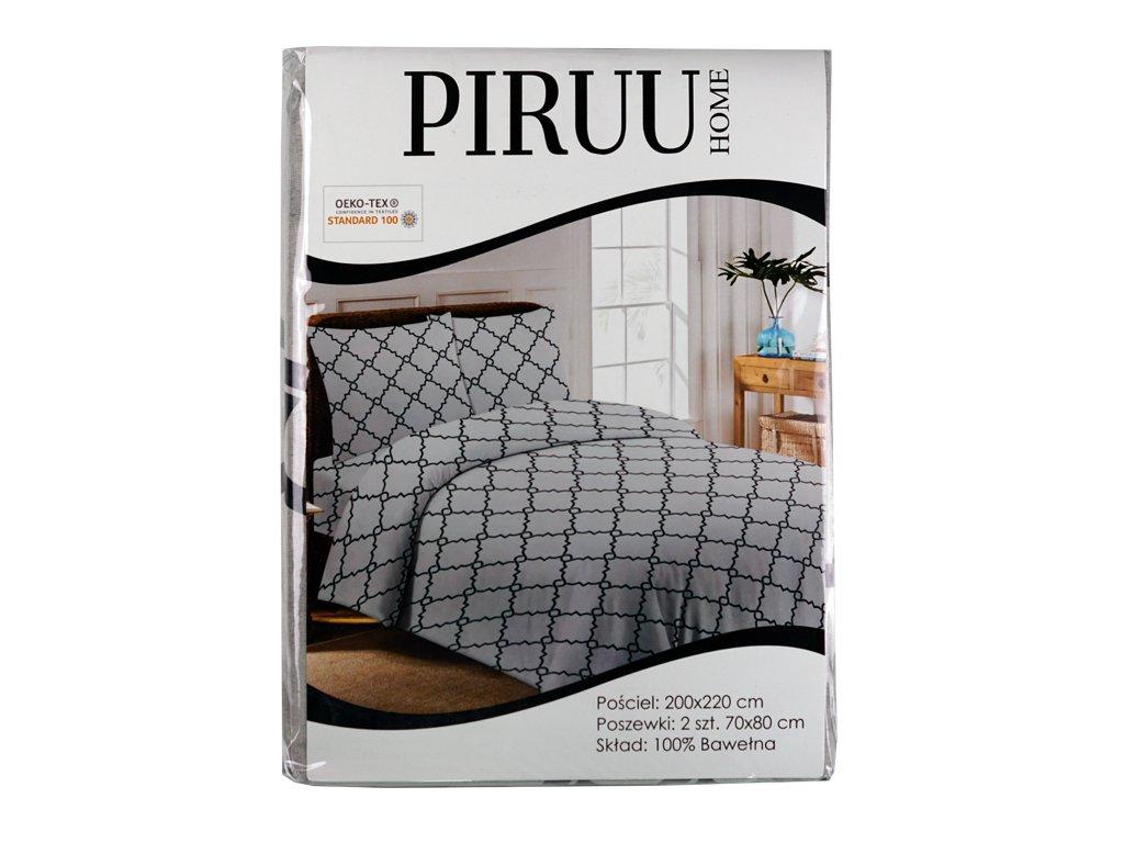Pościel bawełniana 200x220 + 2 poszewki PIRUU