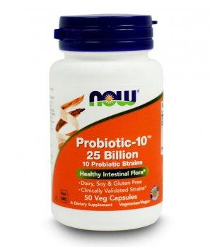 NOW - Probiotic-10 25 Billion 50 kapsułek
