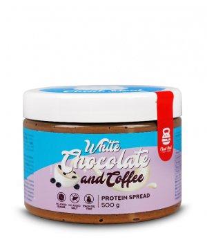 Krem do smarowania Protein Spread 500g biała czekolada & kawa CHEAT MEAL