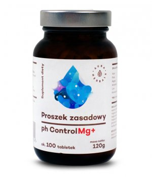 Proszek zasadowy ph control Mg+ 120g Aura Herbals