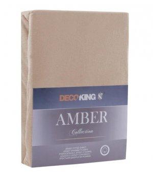 Prześcieradło bawełna 200-220/200 Cappucino DECO/K