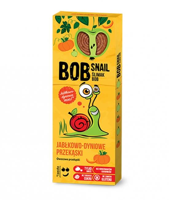 Przekąska jabłko/dynia kartonik 30g BobSnail
