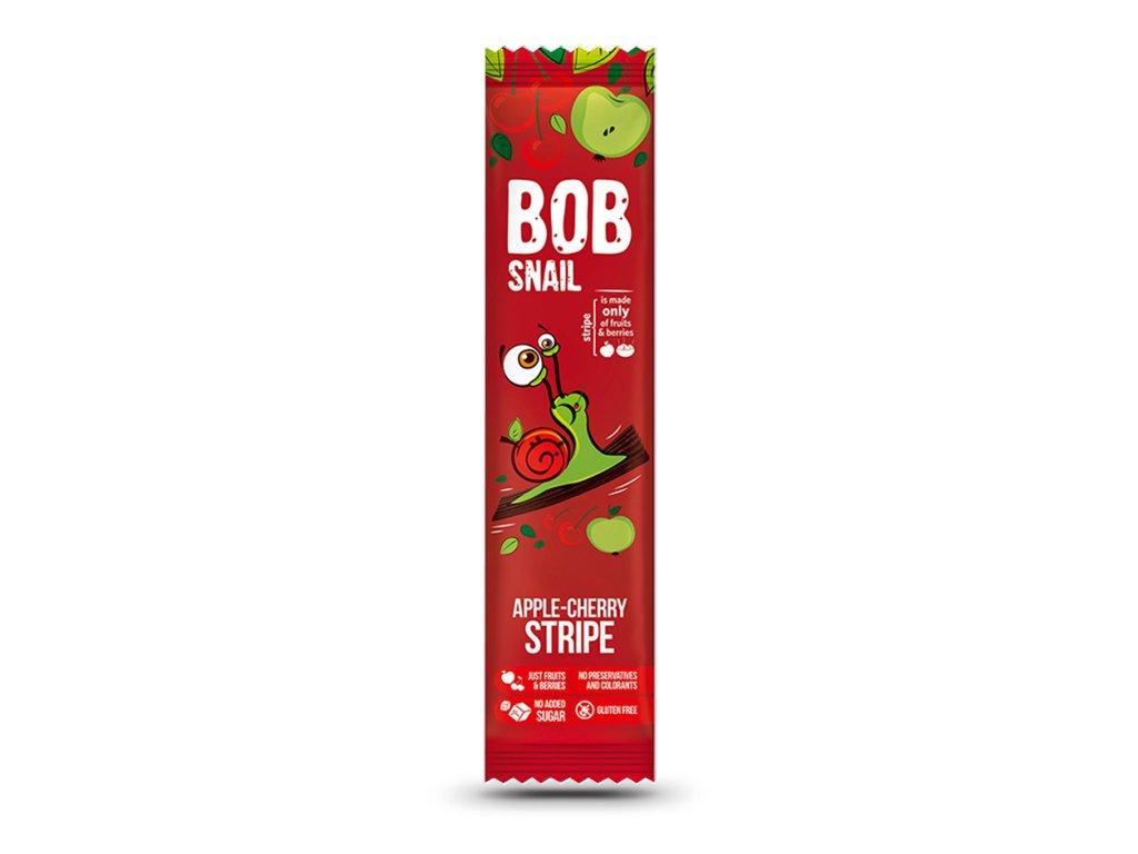 Przekąska jabłko/wiśnia 14g BobSnail
