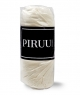 Prześcieradło Jersey 140x200 bawełna z gumką KREMOWE PIRUU