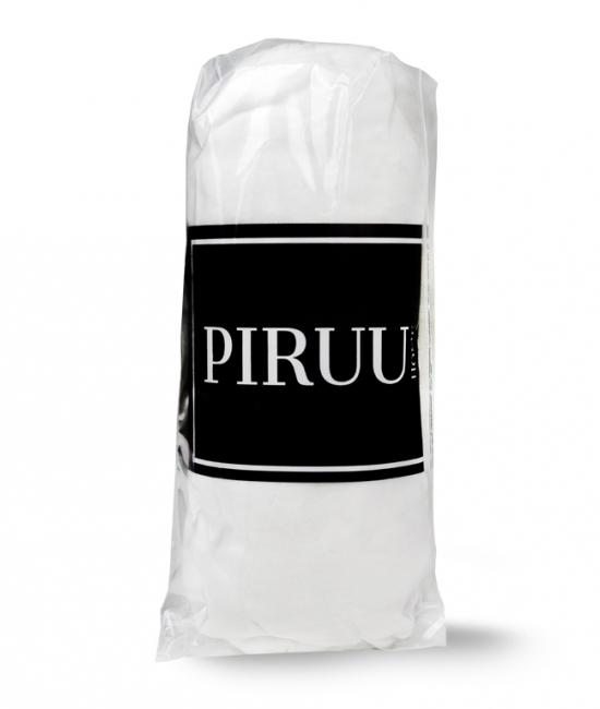 Prześcieradło Jersey 180x200 bawełna z gumką BIAŁE PIRUU