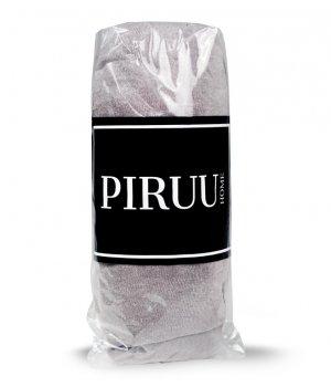 Prześcieradło Jersey 180x200 bawełna z gumką JASNY POPIEL PIRUU