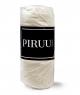 Prześcieradło Jersey 200x220 bawełna z gumką KREMOWE PIRUU
