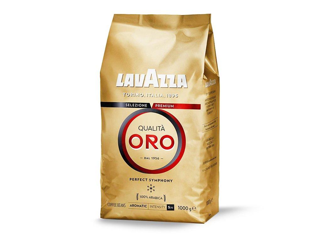 Kawa ziarnista Qualita Oro palona 1kg Lavazza
