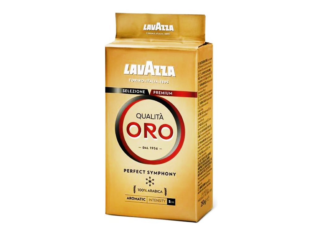 Kawa mielona Qualita Oro palona 250g Lavazza