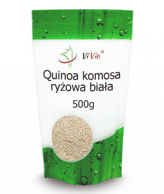 Quinoa, komosa ryżowa przepisy, biała