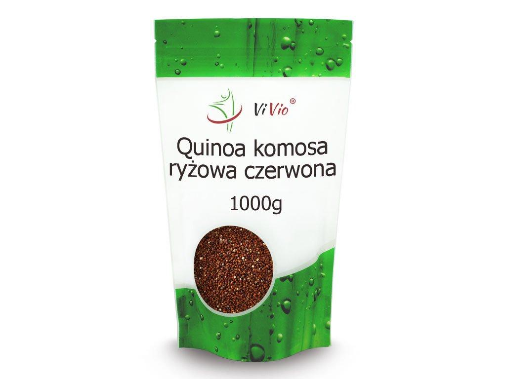 Quinoa komosa ryżowa czerwona właścicowści